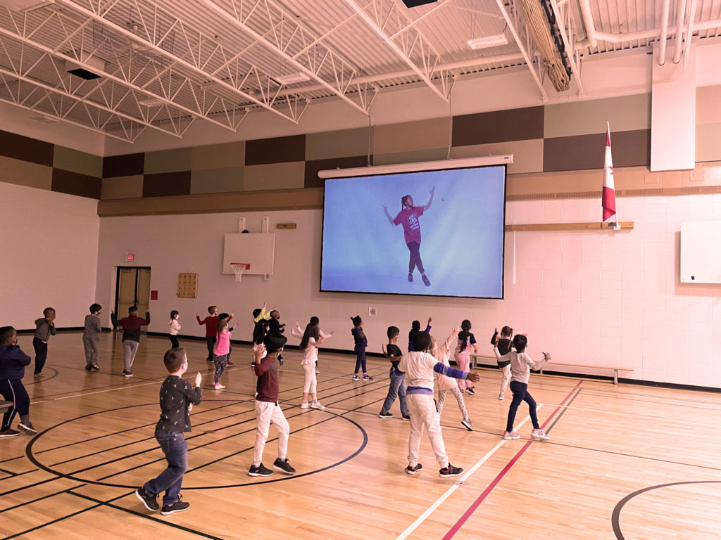 SK InterActive In Gym